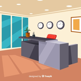 Composition de réception moderne
