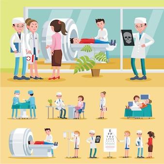 Composition des soins médicaux