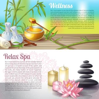Compositions de salon de spa