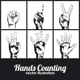 Comptage des mains