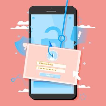 Compte de phishing