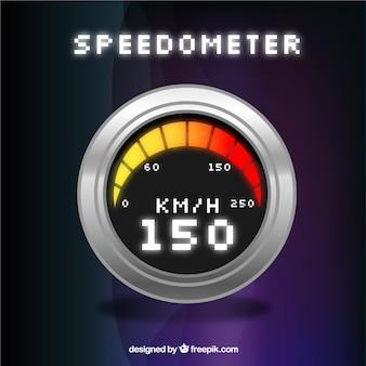 Compteur de vitesse numérique