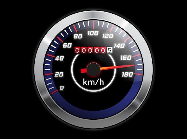 Compteur de vitesse réaliste