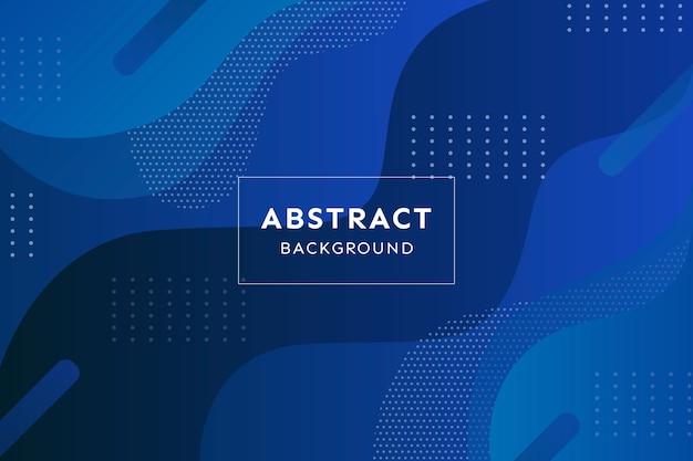 Concept abstrait bleu classique
