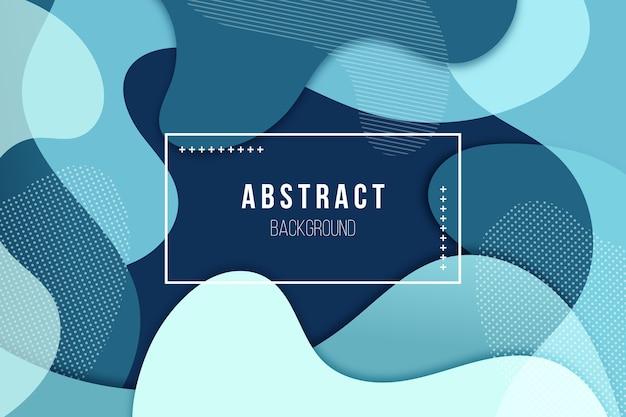 Concept abstrait fond bleu classique