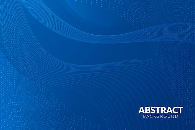 Concept abstrait moderne fond bleu classique