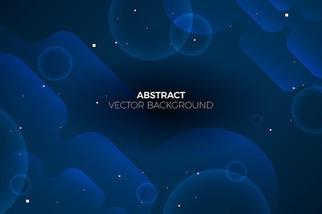 Concept abstrait de papier peint bleu classique