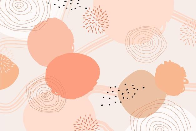 Concept abstrait pastel