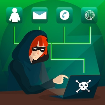 Concept d'activité de pirate