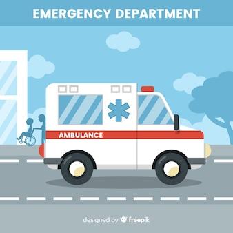 Concept d'ambulance