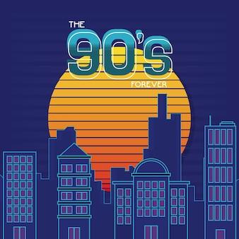 Le concept des années 90 pour toujours