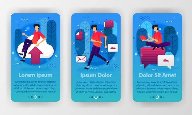 Concept d'application pour téléphone portable
