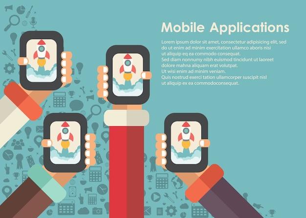 Concept d'applications mobiles