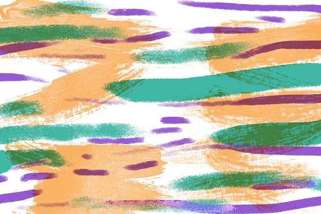 Concept d'art avec des lignes colorées