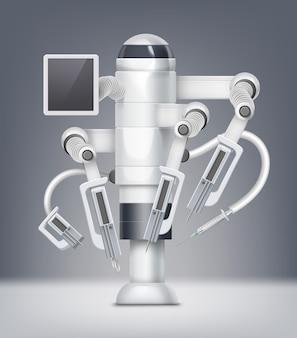Concept d'assistant robot chirurgical fictif