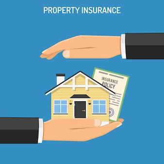 Concept d'assurance des biens