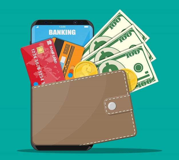 Concept bancaire par internet