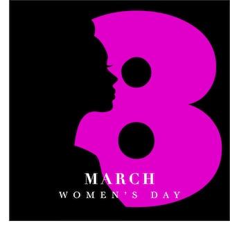 Concept de bannière de jour des femmes