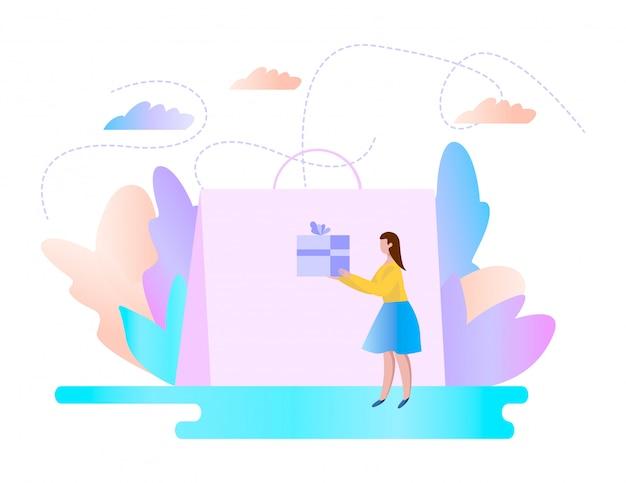 Concept de boutique en ligne.