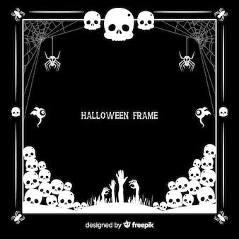 Concept de cadre d'halloween