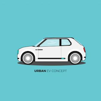 Concept car urbain ev