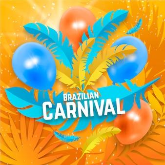 Concept de carnaval brésilien réaliste
