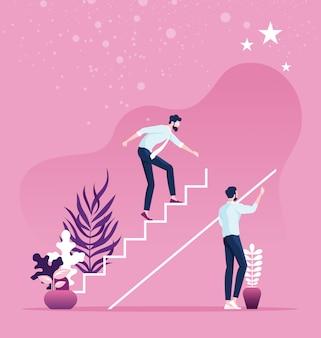 Concept de carrière et opportunité d'affaires