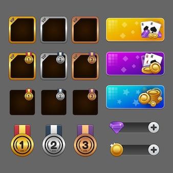Concept de casino et de jeu