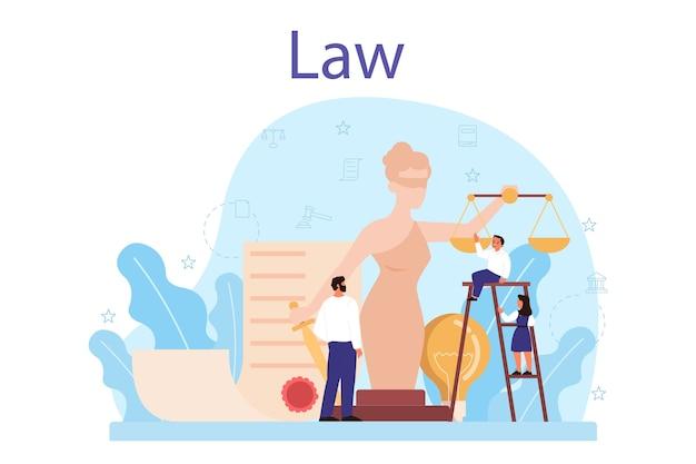 Concept de classe de droit.