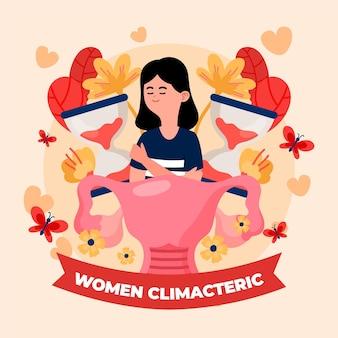 Concept climactérique de femmes