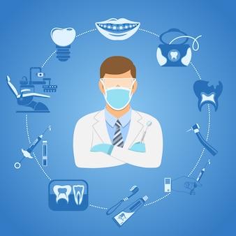 Concept de clinique dentaire