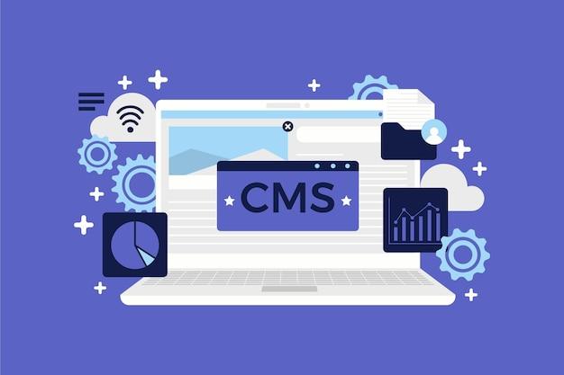 Concept cms design plat