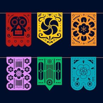 Concept de collection de bruant mexicain