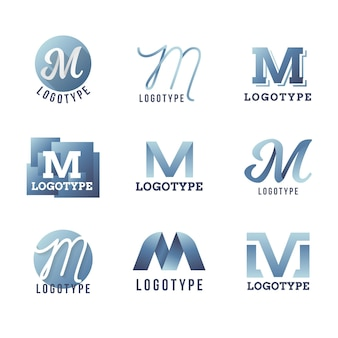 Concept de collection de logo m