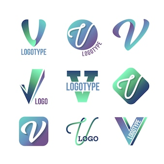 Concept de collection de logo v
