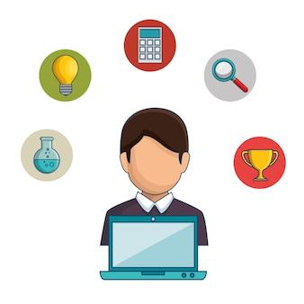 Concept de communauté globale e-learning