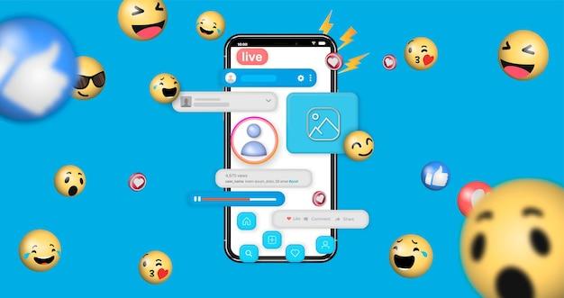 Concept de conception de développement d'interface utilisateur mobile ux