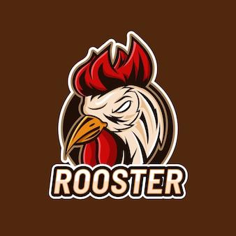 Concept de conception de logo de mascotte