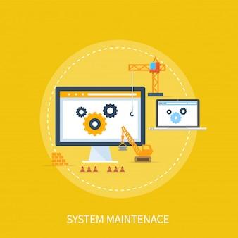Concept de conception de maintenance du système