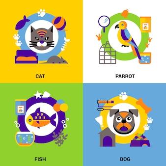 Concept de conception vétérinaire