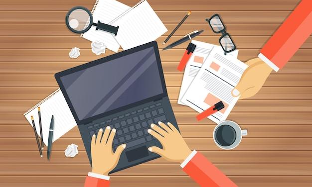 Concept de conseils de blogging