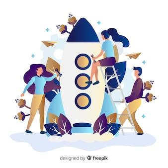 Concept de construction de fusée