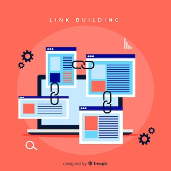 Concept de construction de lien