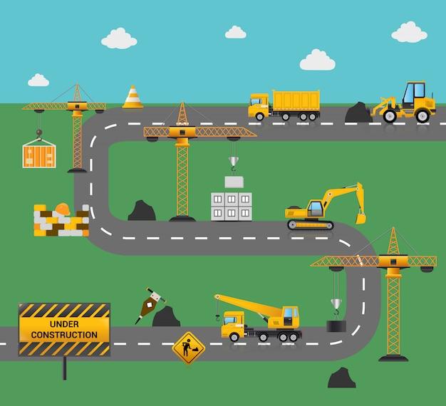 Concept de construction routière