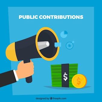 Concept de contribution publique