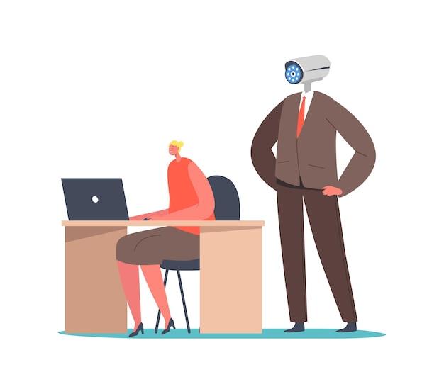 Concept de contrôle d'entreprise