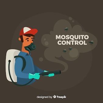 Concept de contrôle des moustiques