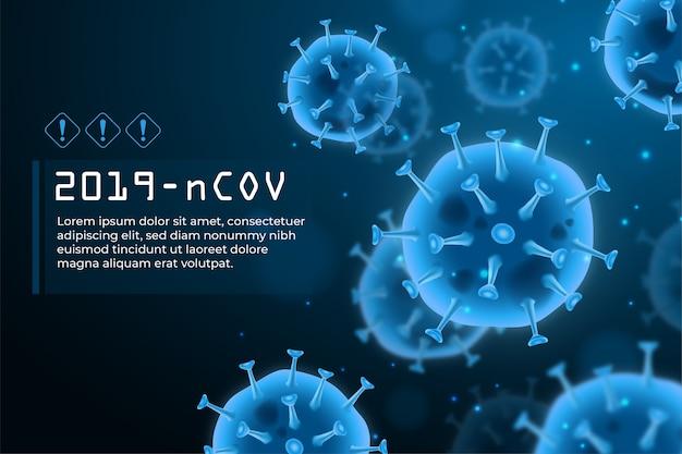 Concept de coronavirus