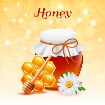 Concept de couleur de miel