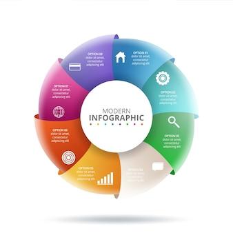 Concept créatif pour infographie. illustration vectorielle